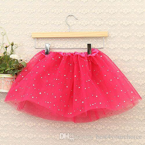 Estate Toddler Girl Shiny Princess Gonna Dance Party Tulle Gonna sottoveste Bambino neonato Gonne garza TuTu Gonna Costumi