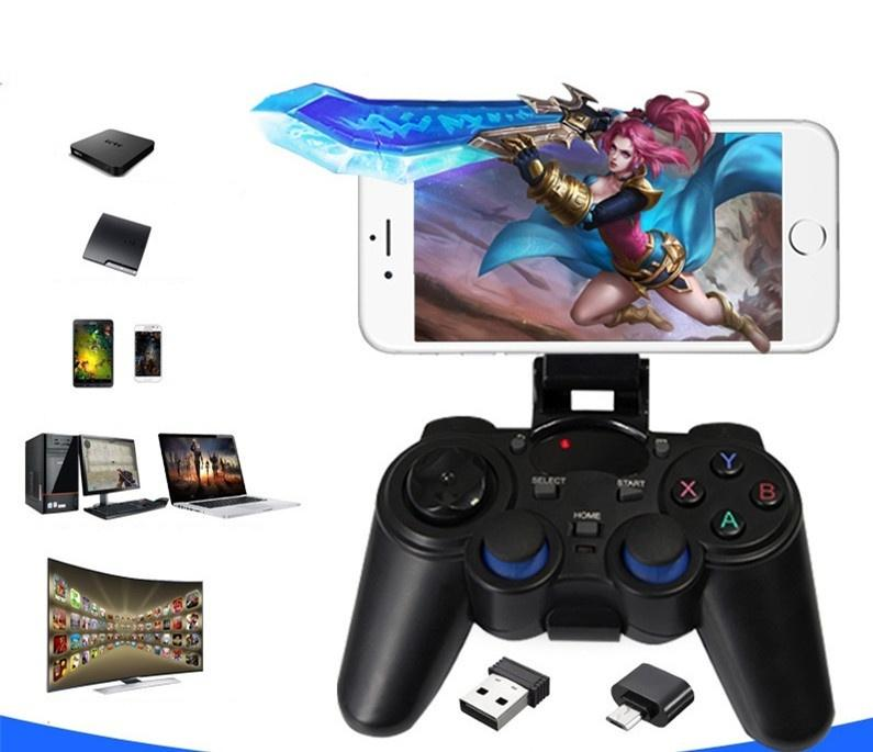 LUO2 2 4G Wireless System TV PC PS3 Smartphone Gamepad Controller Companion  para Android Juegos kjds