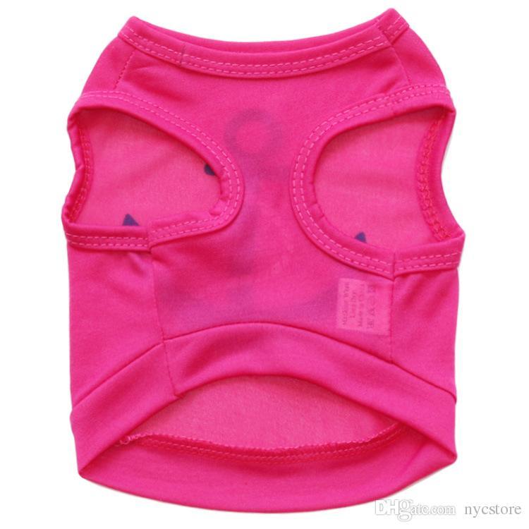 wholesale cheap pet clothes t-shirt anchor dog vest thin summer clothes