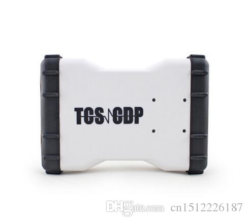 New Design 2016.0 softwareTCS CDP OBD2 Scanner With Newest White TCS CDP Pro New VCI for cars and trucks Cheap Price and free ship