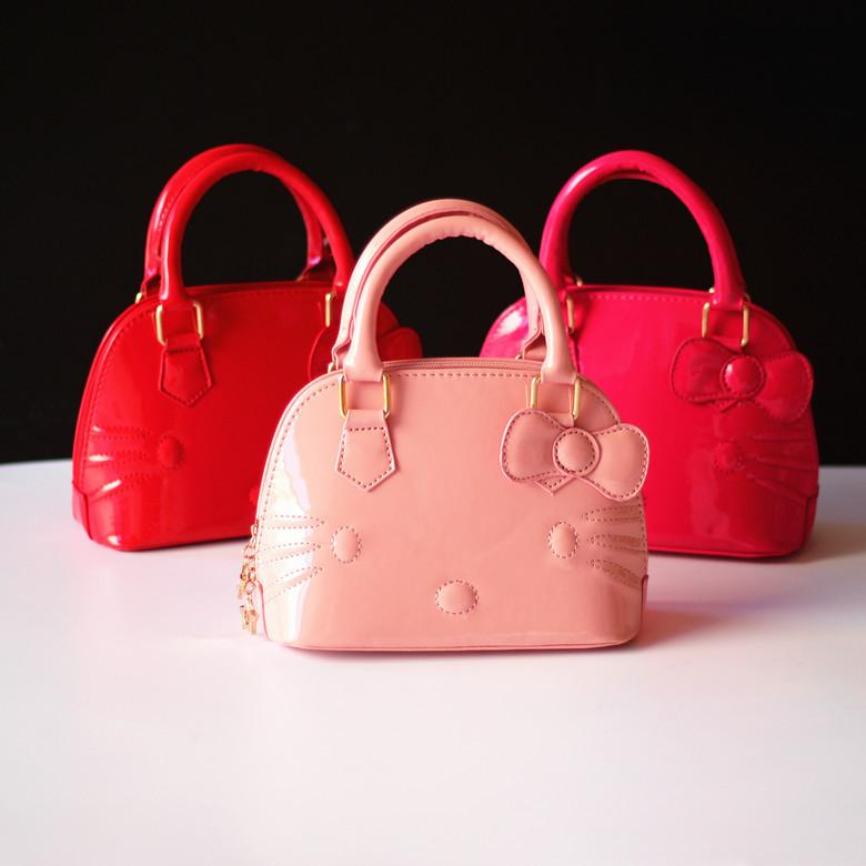 8ab00aa356 Wholesale-New Arrival Baby Girls Hello Kitty Bags Girl Accessories ...