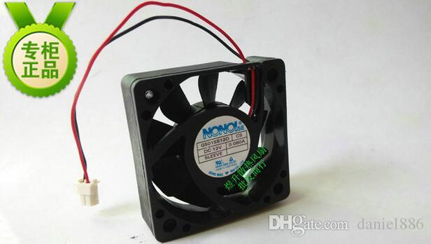 NONOISE 50*50*15 G5015S12D CS DC12V 0.080 a 5 см 2 провода ультра тихий вентилятор охлаждения