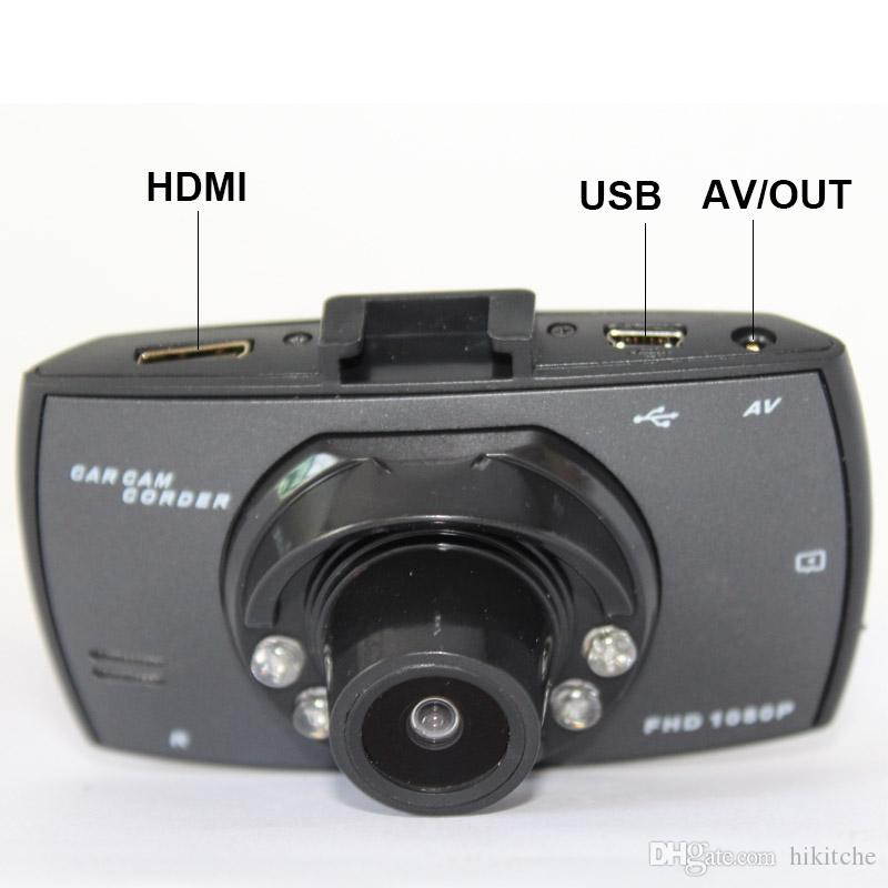 Mini 2,7 zoll HD 140 breit grad Auto DVR AVOUT Kamera Dash Video Recorder Echt 1080 P Cam G-sensor 5,0 mega G30 6IR LED