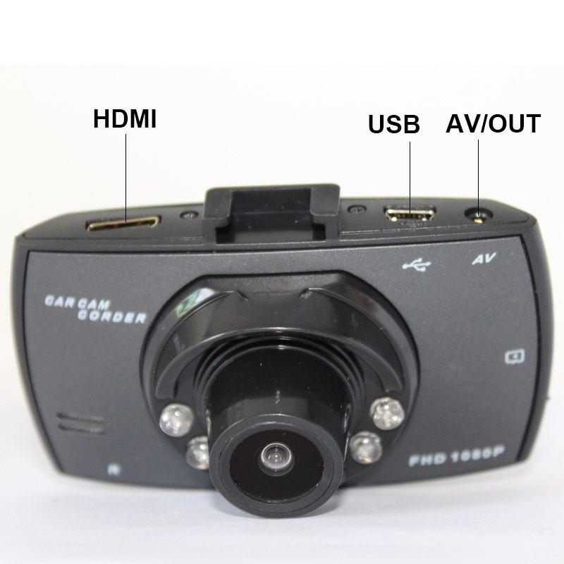 Mini 2.7inch HD 140 wide degrees Car DVR AVOUT Camera Dash Video Recorder Real 1080P Cam G-sensor 5.0 mega G30 6IR LED