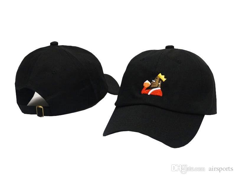 New My Business Emoji King KERMIT TEA Hat Women Men VIEWS Baseball Caps Hip-hop Pablo Los Angeles I FEEL LIKE LEBRON Hat