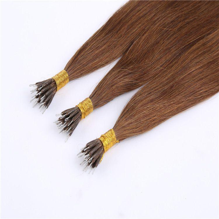 Cheap 2016 Hot Pre Bonded Hair Nano Tip Ring Hair Extensions 100