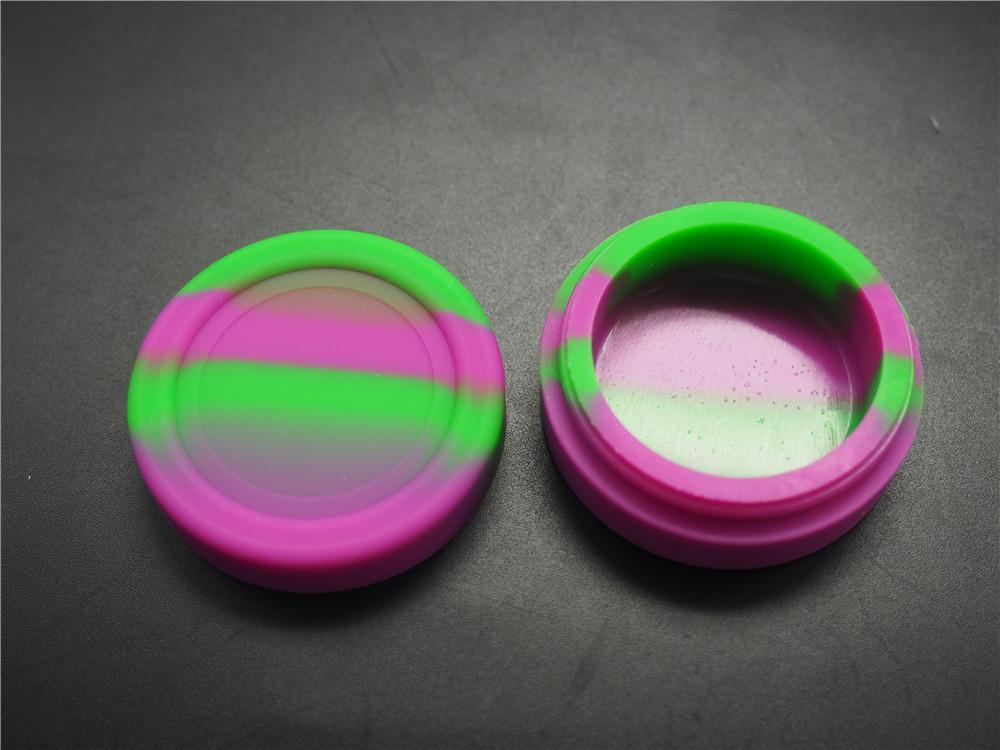 Niedrogie słoiki z kontenerów silikonowych bezcinek DAB zbiornik woskowy silikonowy