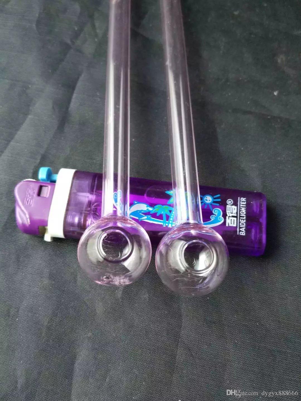 Pink straight burn pot 15cm --glass hookah smoking pipe Glass gongs - oil rigs glass bongs glass hookah smoking pipe - vap- vaporizer