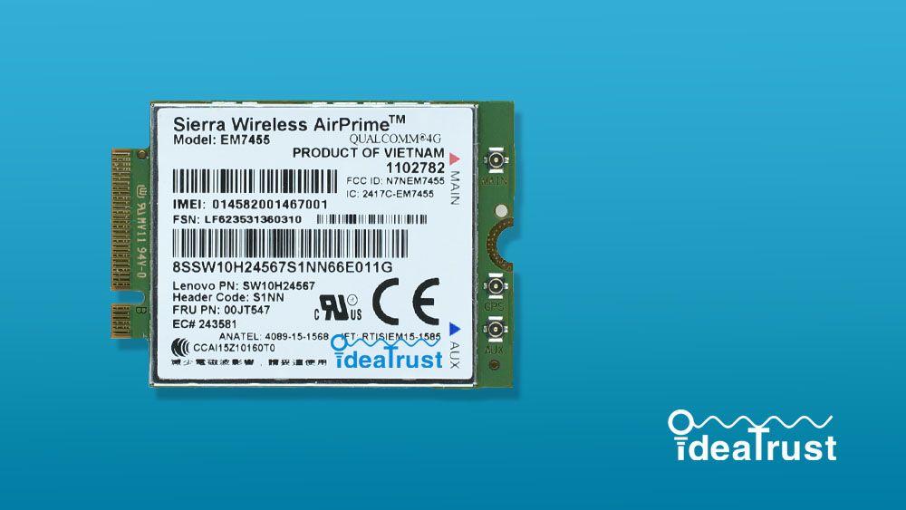 Wholesale- Gobi6000 EM7455 FRU 00JT547 FDD TDD LTE 4G WWAN Wireless Network  Card for T460 T460p T460s L460 L560 Yoga 260 P40 P50 P70 P50S
