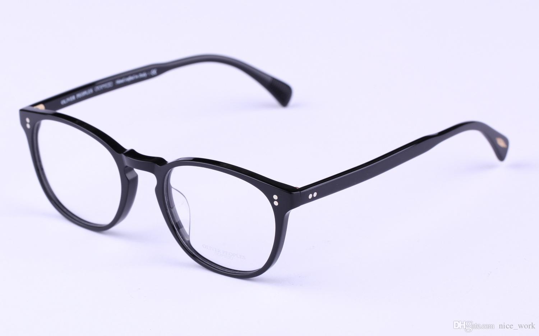 2018 Brand Glasses Oculos Vintage Optical Glasses Frame Oliver ...