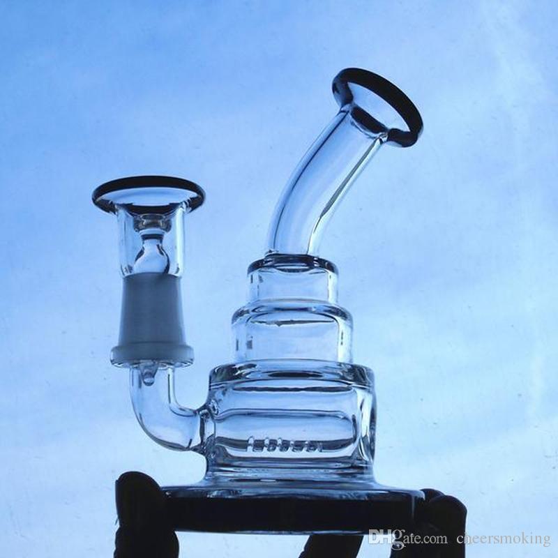 2017 Thick Glass Hitman bongs water pipes Heavy 370g bongs Joint 14mm Bowl And Nail glass bongs perc bong oil rig glass bubbler