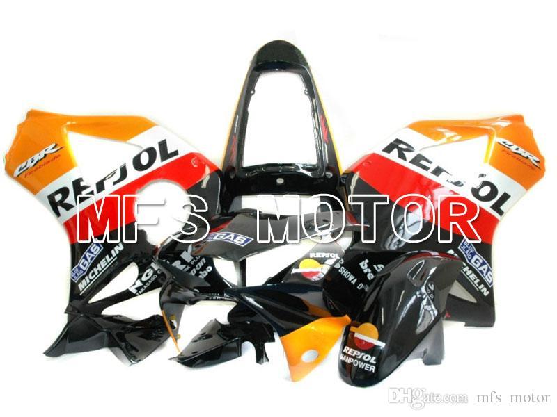 MOTORCYCLE ABS FAIRING BODYWORK SET FOR 2002 2003 HONDA CBR 900RR CBR954RR 02 03 Injection