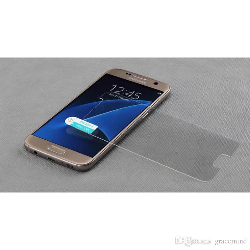 Explosion-proof Clear Flat Tempered Glass For Samsung Galaxy S7 Edge Transparent Screen Protector Film Ultra thin For Samsung Galaxy S7 Edge