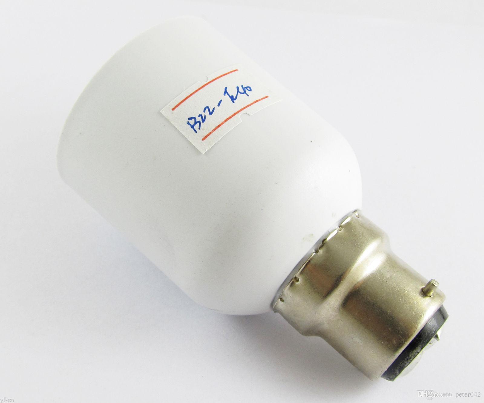 B22 ذكر إلى E40 أنثى المقبس قاعدة الصمام مصباح الهالوجين CFL مصباح لمبة