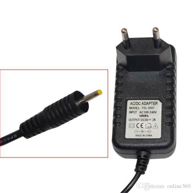 DC 5V 2A/2000mah AC Power Adapter Wall Charger For Android Tablet PC With Round 2.5mm Jack US/EU Plug