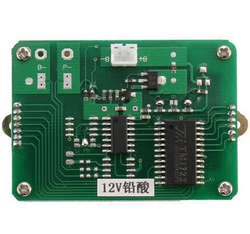 Blei-Säure-Batterien Anzeige Batteriekapazitätstester Für 12V Lithium LiPo LiIon Batterie