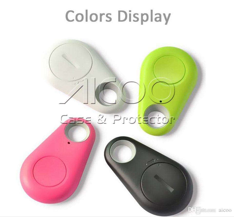 GPS Tracker Mini Téléphone Sans Fil Bluetooth 4.0 Alarme iTag Clé Finder Enregistrement Vocal Anti Perdu Pour IOS Android Retailpackage