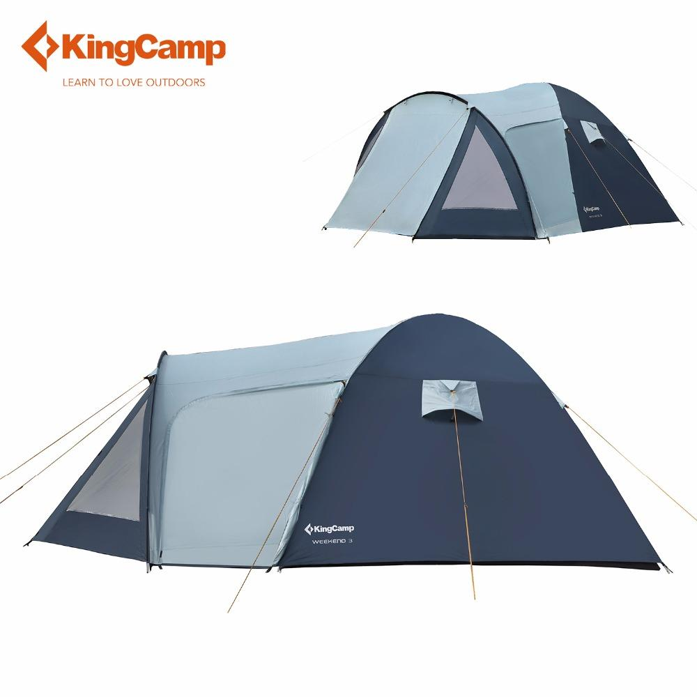 Kingc& Tent Weekend Fire Resistant 3 Person C&ing Tent Waterproof 3 Season Outdoor Tent For Family C&ing Backpacking Family Tents Clearance Popup ...  sc 1 st  DHgate.com & Kingcamp Tent Weekend Fire Resistant 3 Person Camping Tent ...
