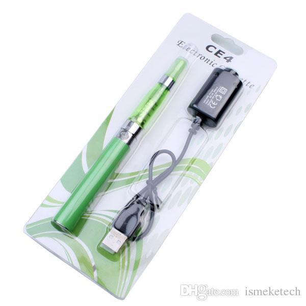 Electronic Cigarettes Ego CE4 Vape Pen Kit E Cigarettes EGO-T Battery 1.6ml CE4 Atomizer Tank Evod MT3 E-Liquid Blister Starter Kits