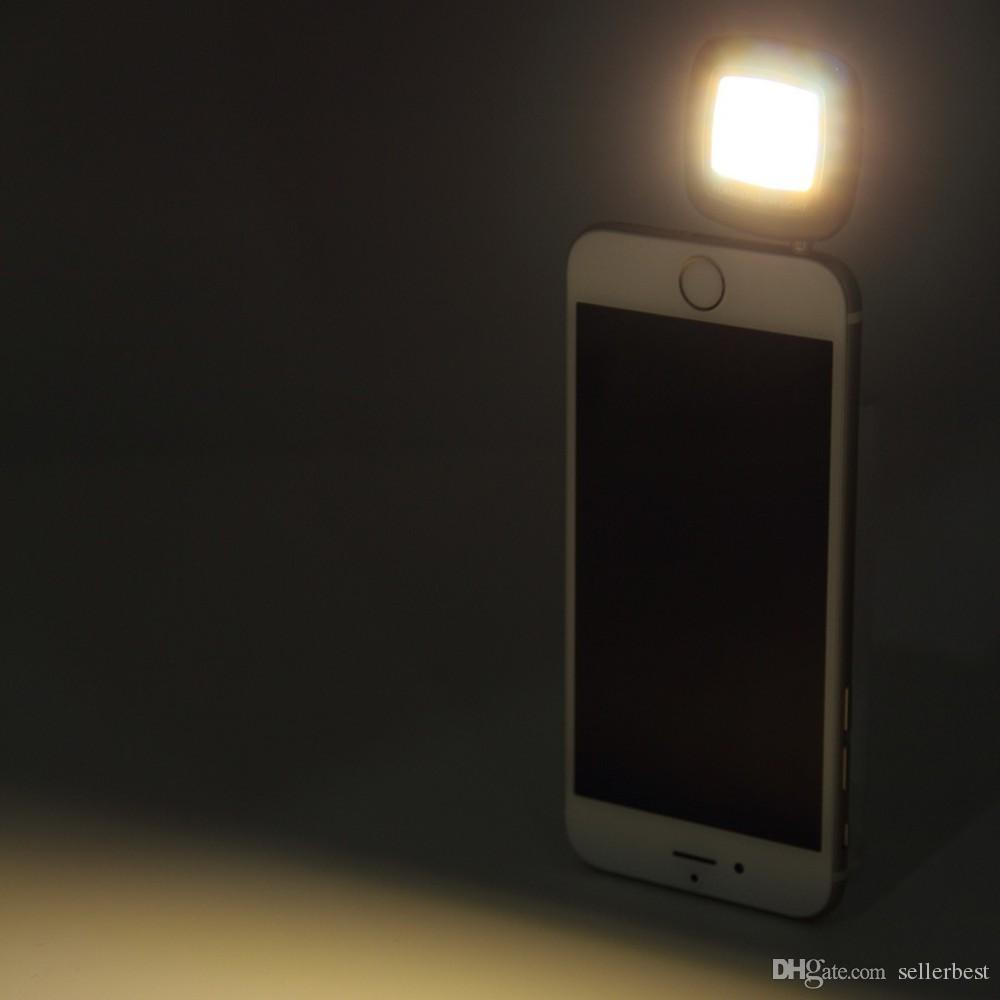 Мини портативный смарт-LED камеры заполнения Флэш-селфи свет для мобильного телефона продвижение новые