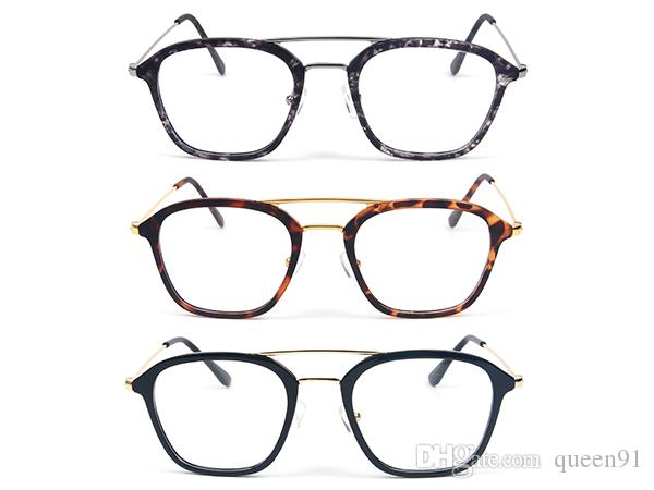 Tr+Metal Material Plain Glass Spectacles Frame Working Reading ...
