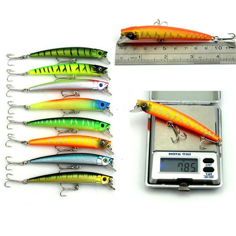Fishing Lure set ABS Plastic Laser hard crank bait Artificial Fish Bill Rattles Crankbaits Fishing Tackle