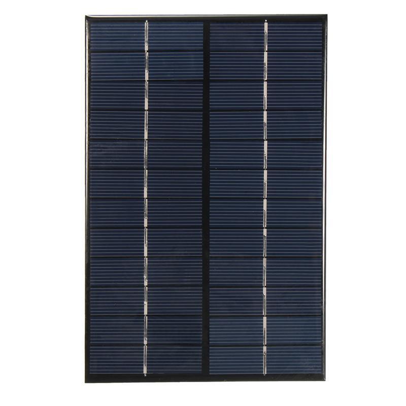 12V 4.2W polykristalline Solarzelle / Modul-Sonnenkollektor für das Aufladen des Solaraufladegeräts des Solar-Ladegerät-200V * 130 * 3MM 5V / / geben Verschiffen frei