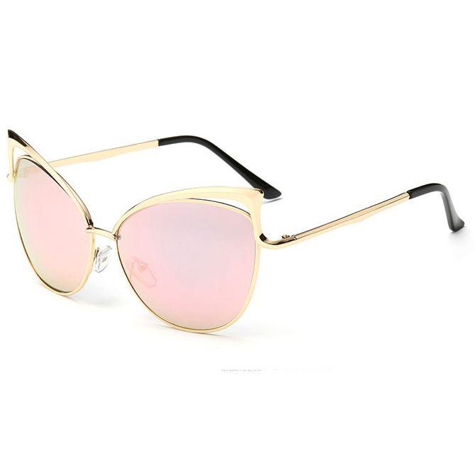 df17e94f480 New Fashion Cat Eye Luxury Sunglasses 2018 Women Brand Designer Twin Beam Mirror  Men Sun Glasses Vintage Female Visual Good Sunglases Cheap Designer ...