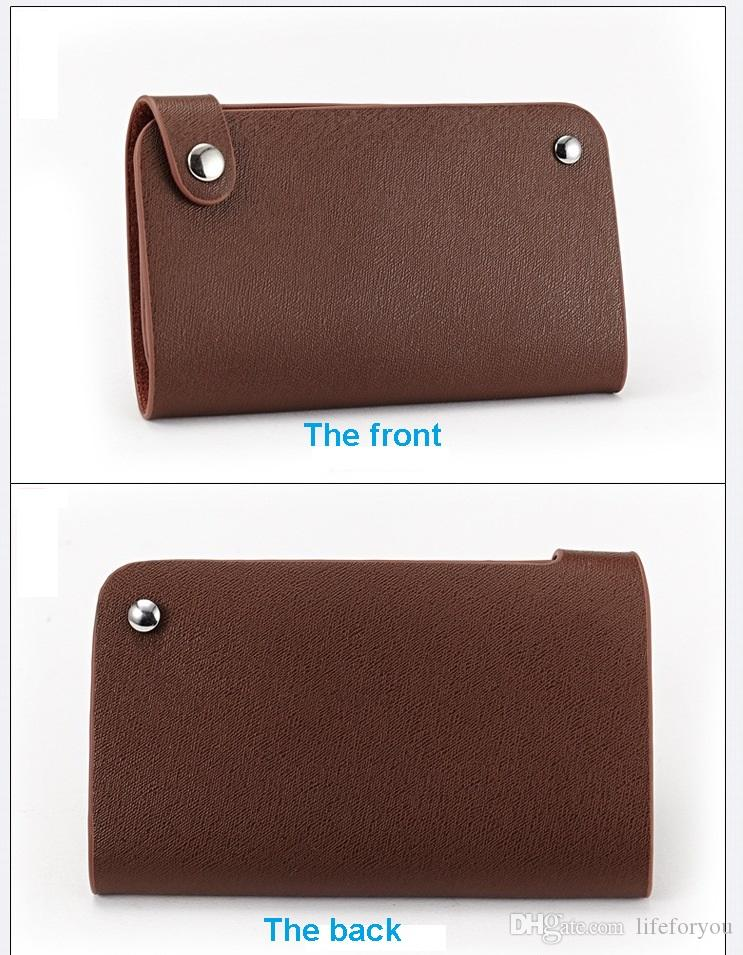 Portafogli da uomo Portafogli portafogli Portafogli in vera pelle di mucca e può contenere 30 portapacchi Porta carte di credito Borse top fashion