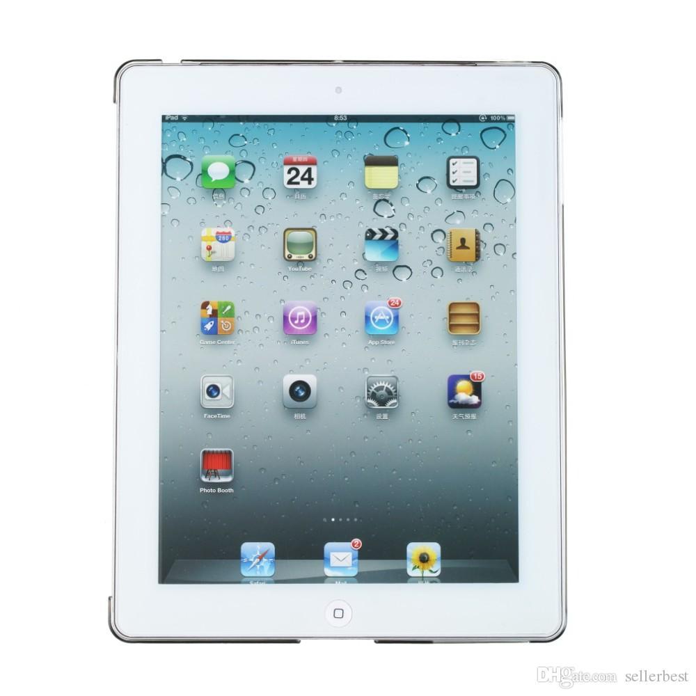 세련된 맑은 투명 PC 하드 다시 보호 케이스 커버 iPad 2 3 4