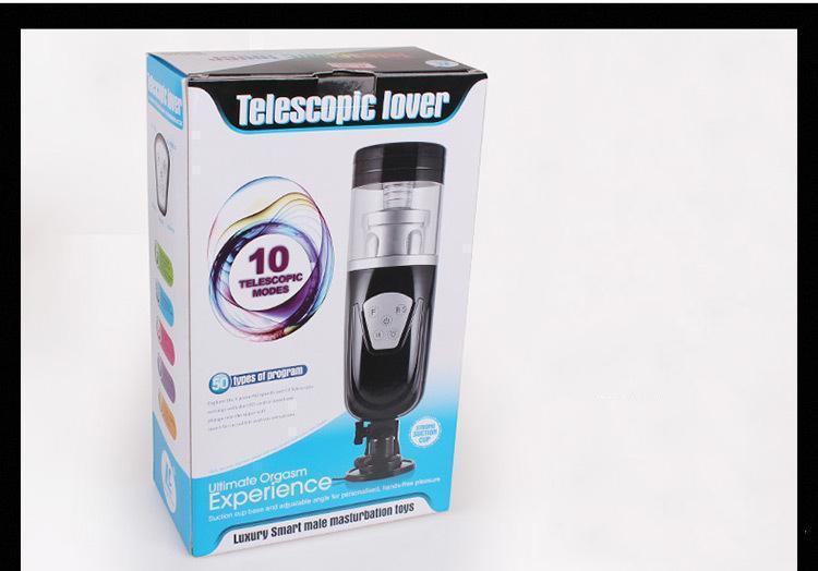 New Easy Love Telescopic Lover 2 Machine automatique de sexe rotative et rétractable Masturbateurs masculins électriques Sex Toys pour hommes