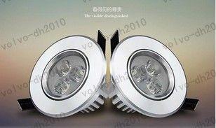 Cree LED Downlight Ceiling 3W.5W 7W Recessed LED light Downlights Dimmable LED down Lights Lamps Warm White 110-240V LLFA182