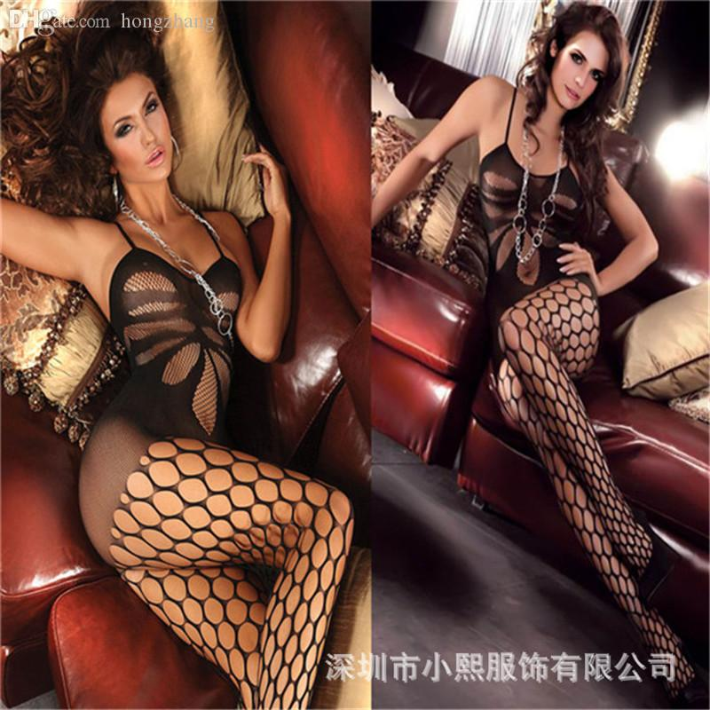 da3dee14a16 2019 Wholesale High Quality Sexy Lingerie Fullbody Sexy Full Slips For Women  Intimates From Hongzhang