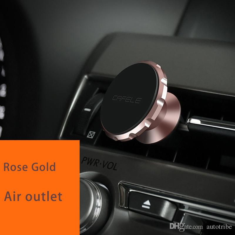 car mount New Car Cellphone Holder Universal Magnetic 360 degrees Holder for Iphone sansung LG Huawei