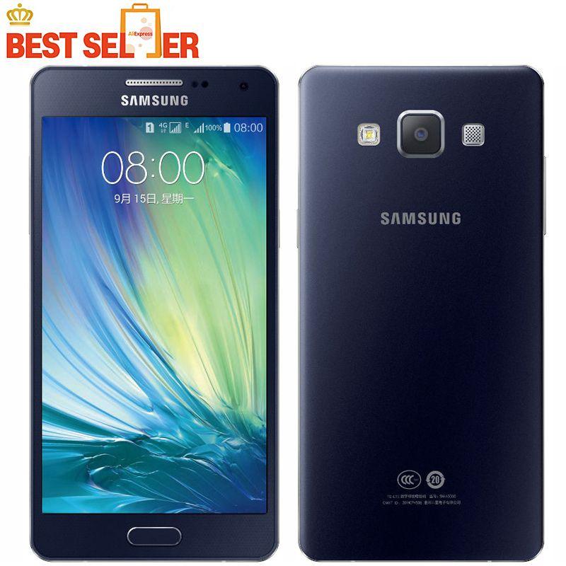 Original Unlocked Samsung Galaxy A5 A5000 A500F LTE Cell phones 5 0