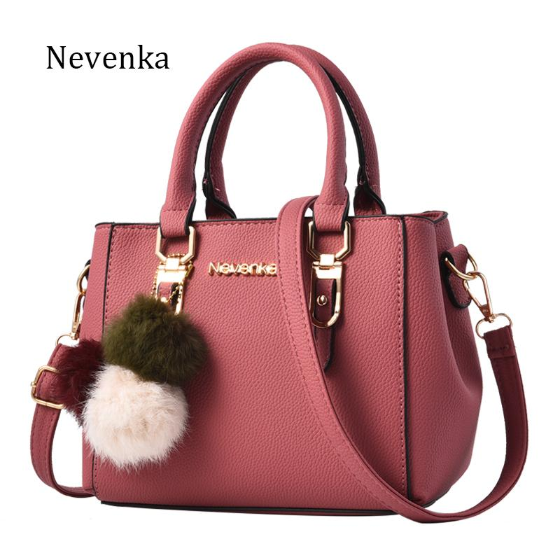 912f7b98c1ee Women Bag Pu Leather Tote Brand Name Bag Ladies Handbag Lady Evening Bags  Solid Female Messenger Bags Travel Fashion Sac Purses Designer Handbags  From ...