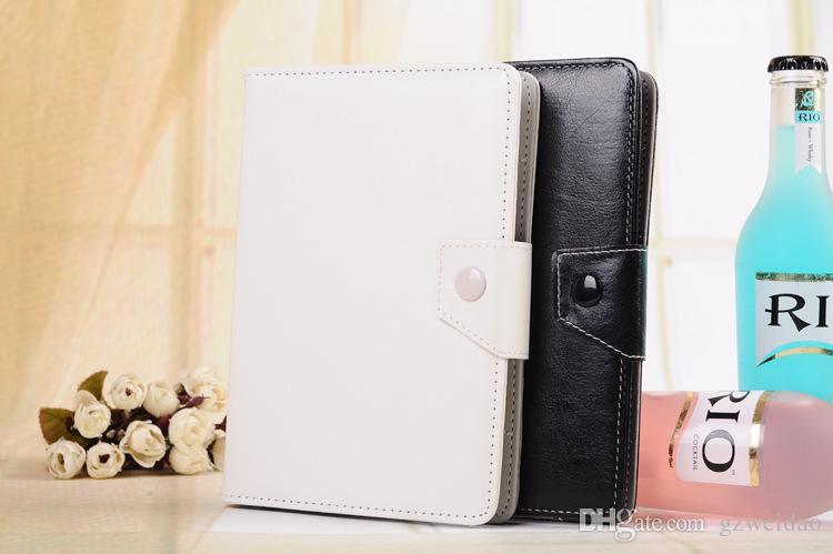 Custodie Custodie in pelle PU regolabili universali 7 8 9 10 pollici Tablet PC MID PSP iPad
