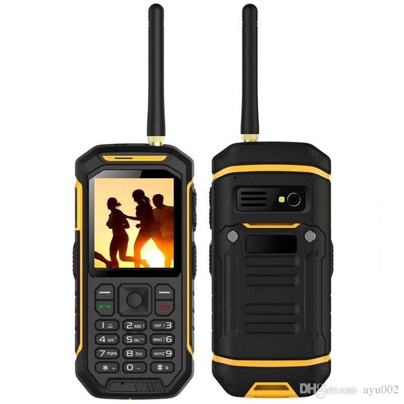 Hot sales outdoor products walkie talkie phone waterproof and shockproof  very good PTT phone