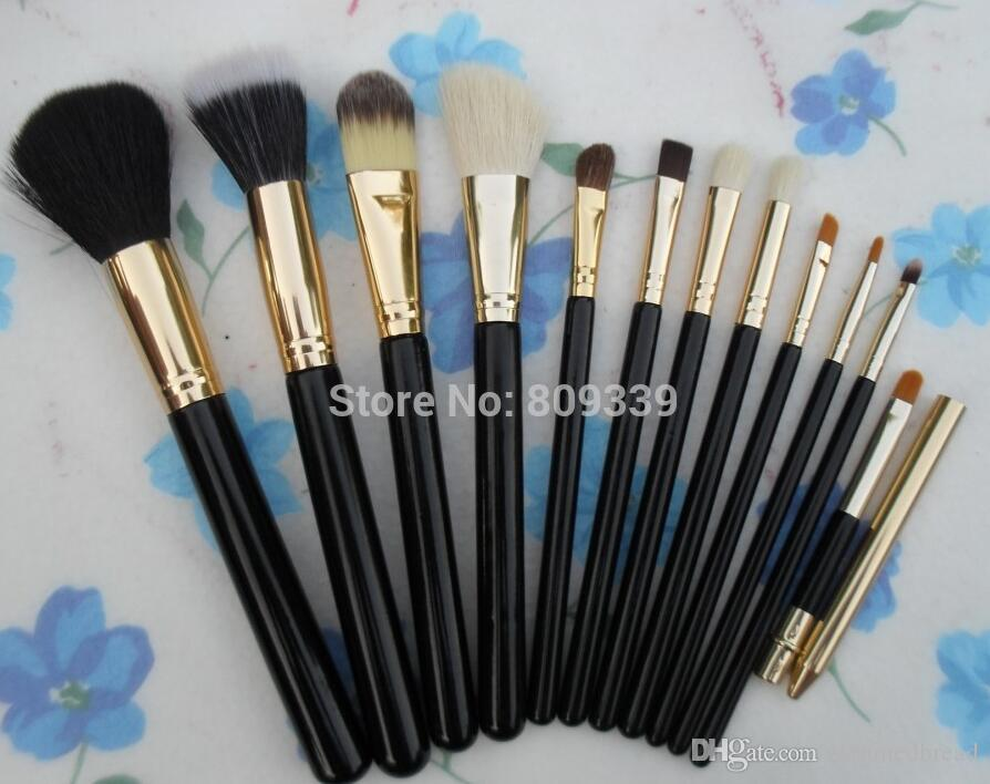 2016 NEW good quality Lowest Best-Selling good sale makeup NEW MAKEUP BRUSH LEATHER BAG
