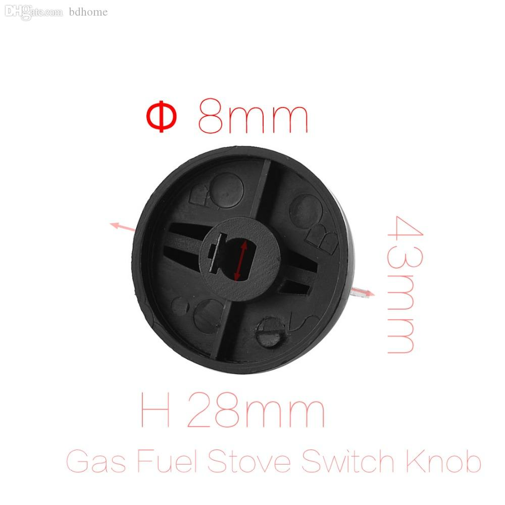 Wholesale-8mm Hole Inner Diameter Home Kitchen Gas Fuel Stove Black ...