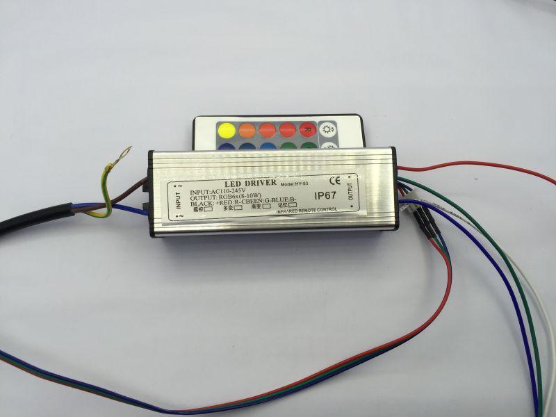 LED Treiber Power Controller für 10W 20W 30W 50W RGB LED integrierte Chip Lampe Treiber Power Controller