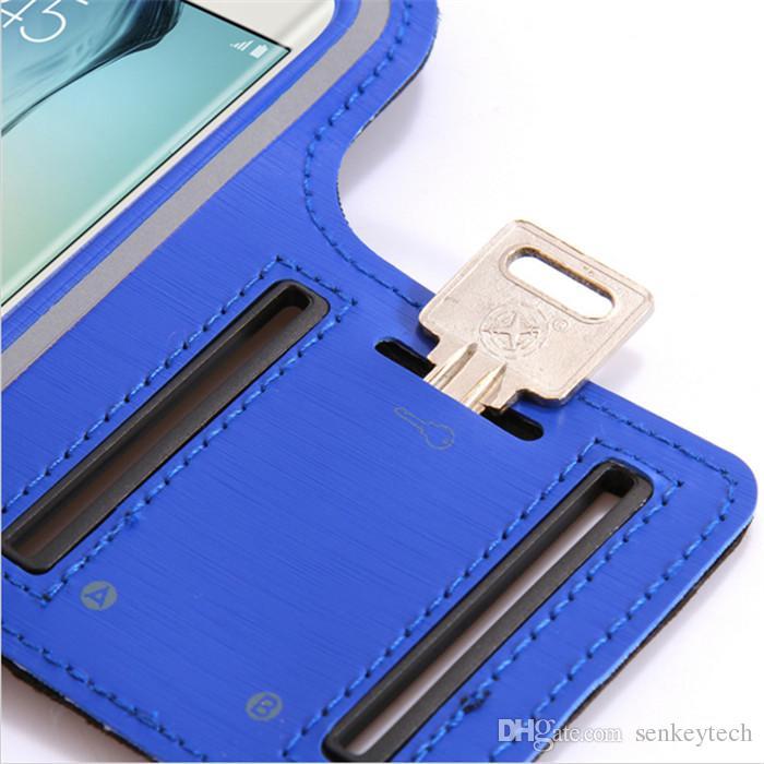 ماء الصالة الرياضية الجري شارة الذراع الفرقة الحقيبة غطاء الهاتف حالة + حامل مفتاح ل IPhone4 / 5/6 / 6plus سامسونج S3 / S4 / S5 / S6 NOTE4 NOTE5