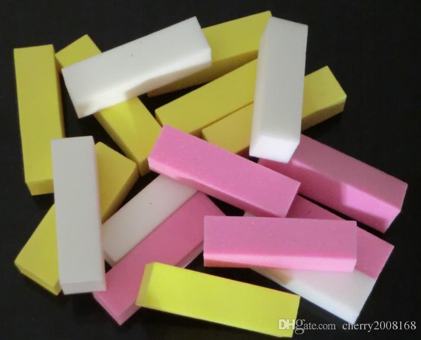 Nail Buffers Mixed Color Nail Buffer Sanding Files Nail Art Manicure Nail Beauty Art Nail Buffer Block Files Manicure Sanding Tool