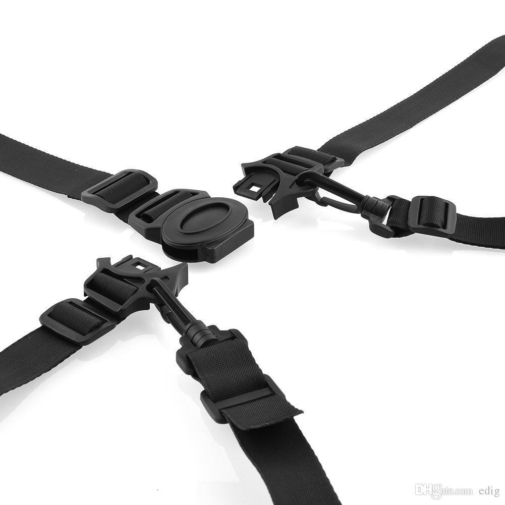 Arrivla Convenient 5-Point Harness Baby Chair Stroller Pram Buggy Safe Belt Strap for Children Randomly