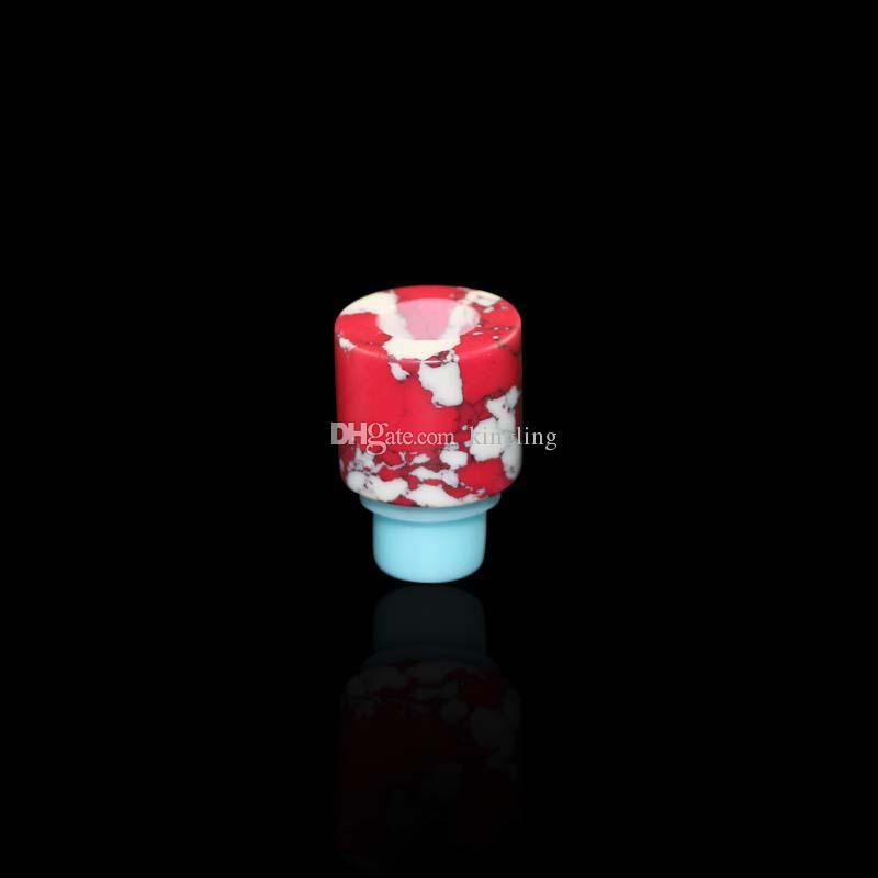 Оптовые новые электронные сигареты ritchy электронная сигарета силиконовой основе каменной потека нефрита ювелирных изделий для капельного бирюзовый капельное совет капельного советы оптовая цена завода