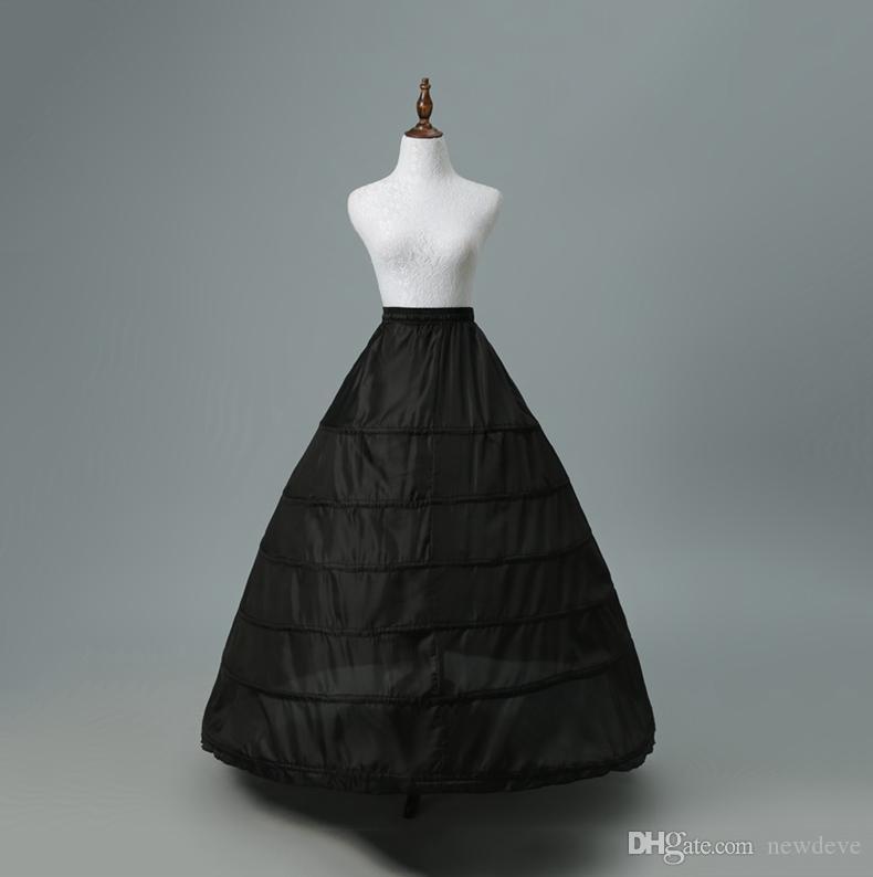 fea0c04a62bc Vestidos Da China Em Stock Petticoats Baratos Da Crinolina Preta Para  Vestido De Vestido De Baile Vestido De Noiva E Acessórios De Casamento Na  Moda Vestido ...