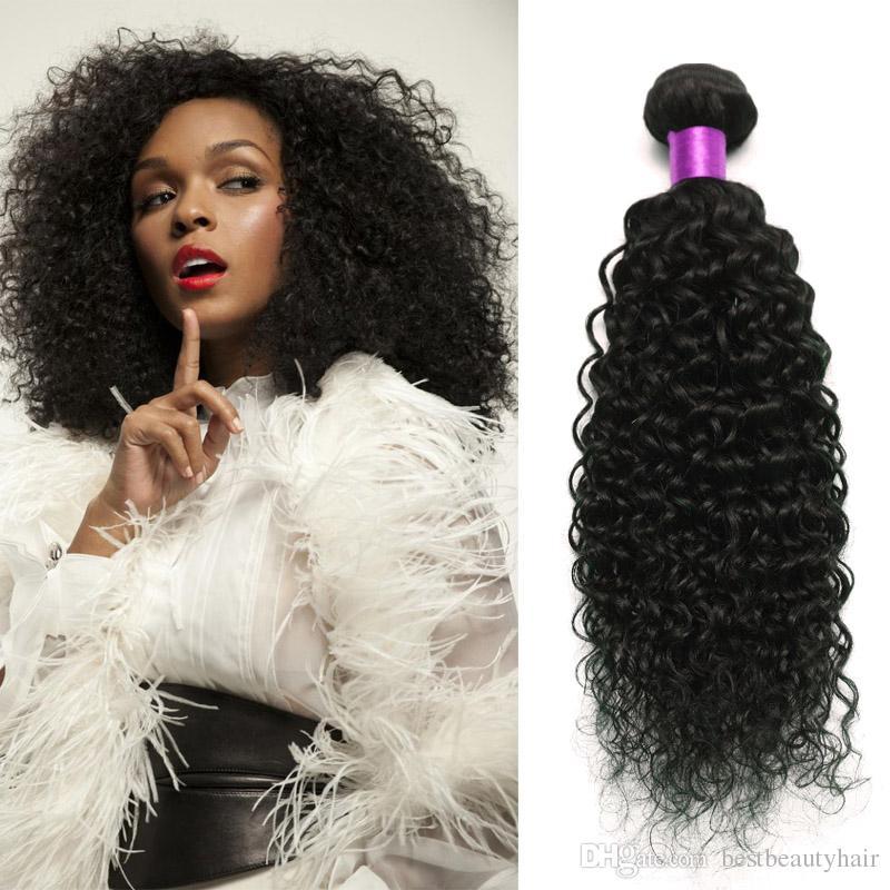 7a Mongolian Kinky Curly Hair Kinky Curly Human Hair Extensions