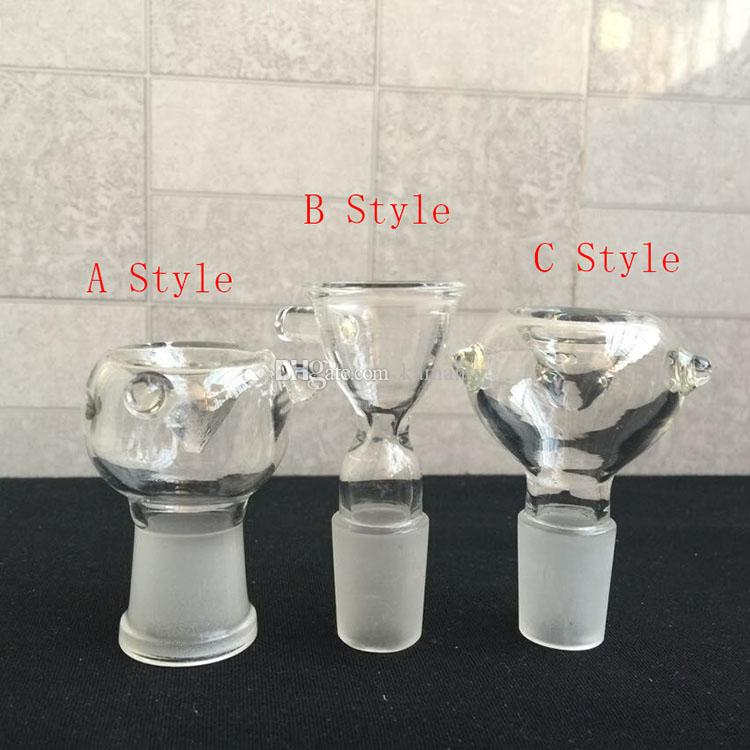 2019 For Smoking Water Pipes Bong Glass Bowl Pieces For