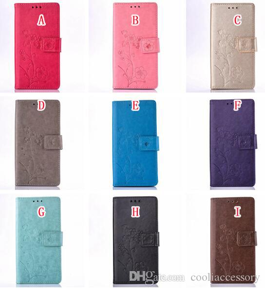 Fiore cassa del sacchetto del cuoio del raccoglitore LG K10 M2 K4 K8 G5 H830 Motorola MOTO G4 Inoltre G 4 Gen Slot scheda Supporto TPU Pocket copertura di lusso di pressione