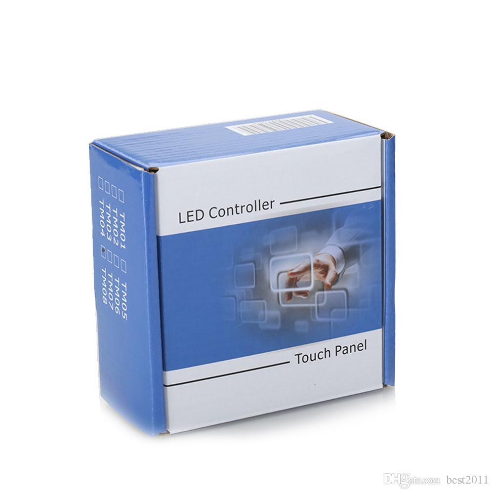 Бытовые стены RGB LED сенсорная панель контроллер led диммер для DC 12V светодиодные полосы Бесплатная доставка новый